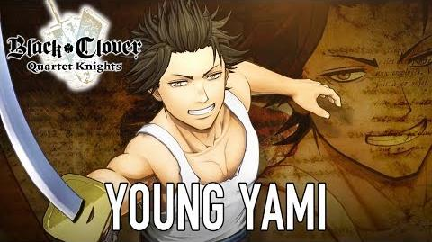 Black Clover Quartet Knights - PS4 PC - Young Yami (Character introduction)