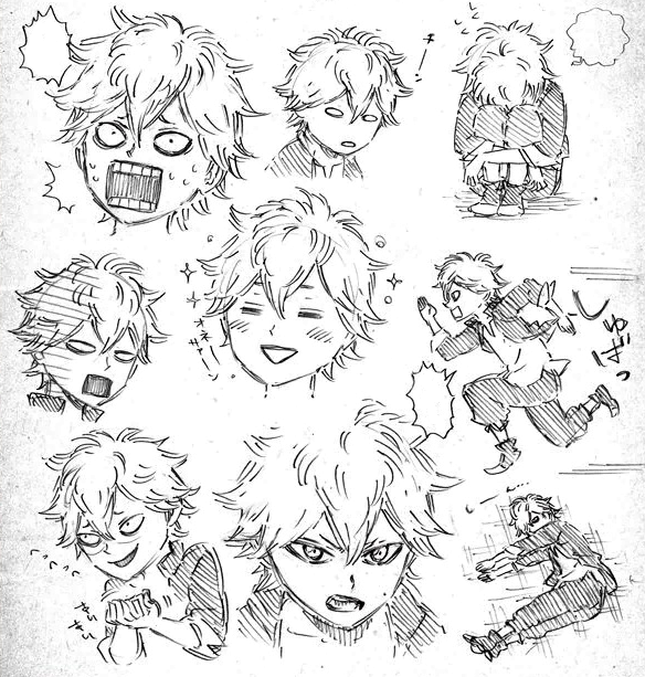 Asta initial concept personalities.png