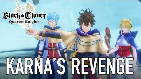 Black Clover Quartet Knights - PS4 PC - Karna's Revenge (Story Mode Trailer)