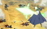 Yuno vs Gaderois
