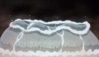 Ninho do dragão do mar desfeito