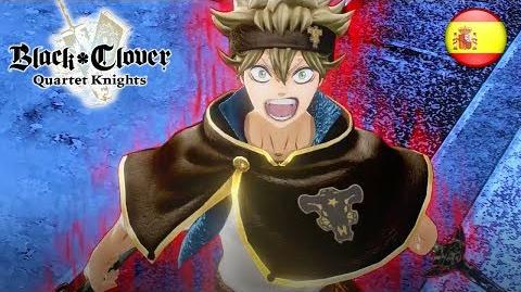 Black Clover Quartet Knights - PS4 PC - The Wizard King (Spanish Story Trailer)