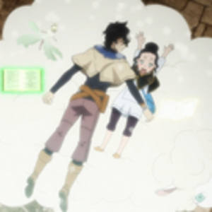 Charmy catching fainted Yuno.png