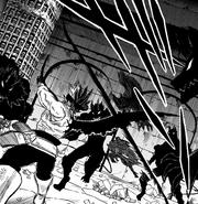 Katana releases flying slash