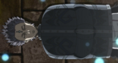 Hechizo desconocido de restricción de acero