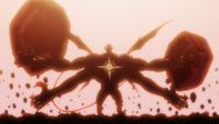 Dante forms multiple arms