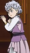 Nebra as a child