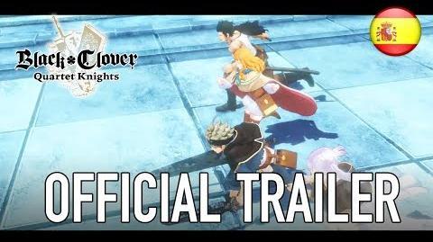 Black Clover Quartet Knights - Official trailer (Spanish)