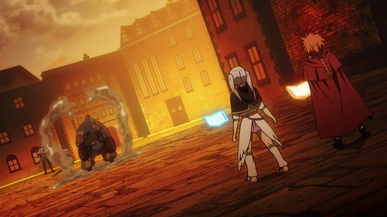 Leopold and Noelle fighting a corpse.png