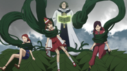 Shidan catches three witches
