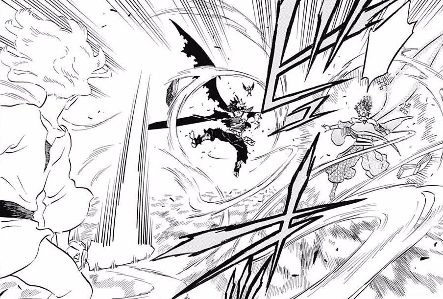 Asta e Yuno vs. Licht