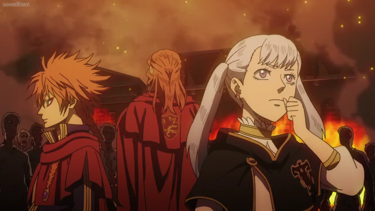 Fuegoleon Noelle and Leopold surrounded by corpses.png