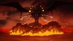 Demon God attacks humans