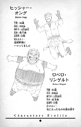Hischer Ongg and Robero Ringert Character Profiles