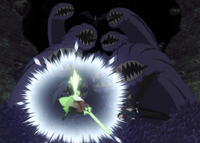 Zagred summons giant monsters