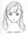 Noelle initial concept head