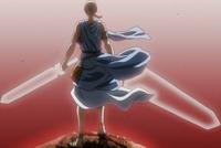 Licht wields two swords