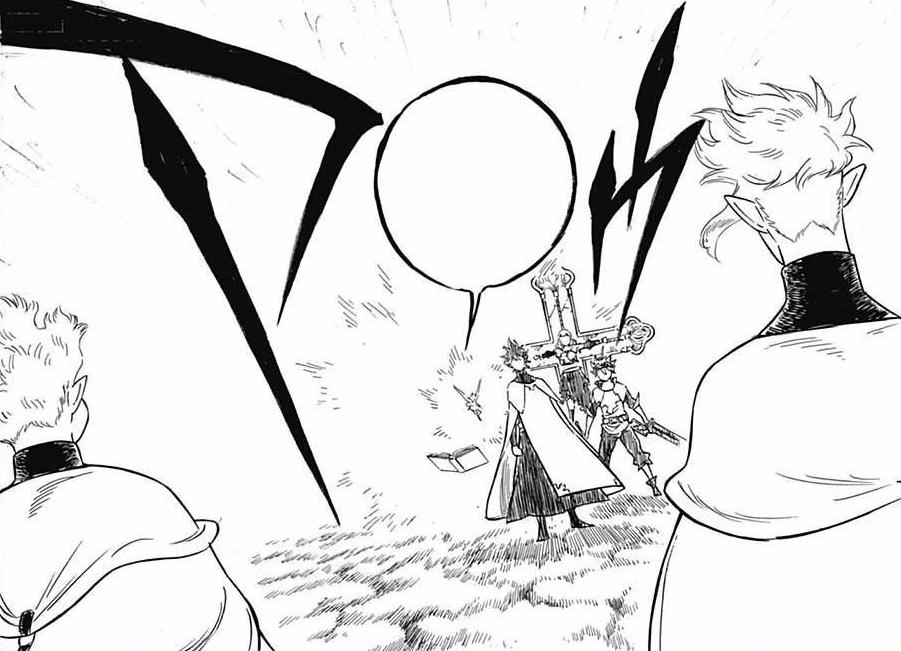 Asta e Yuno vs. Dois Elfos