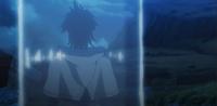Cilindro de agua yuno preso de costas