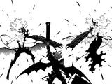 Asta and Liebe vs. Lilith and Nahamah
