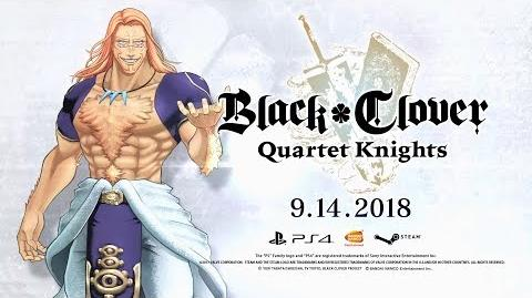 Black Clover Quartet Knights - Vetto Character Trailer PS4, PC