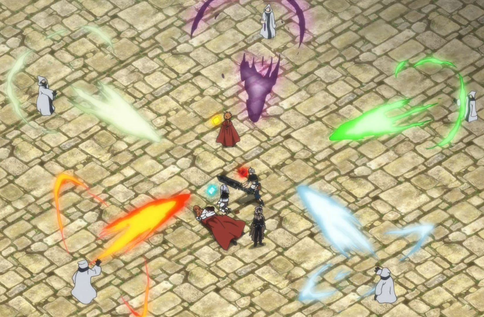 Asta against five rogue mages.png