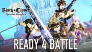 Black Clover Quartet Knights - PS4 PC - Ready 4 battle (Launch Trailer)