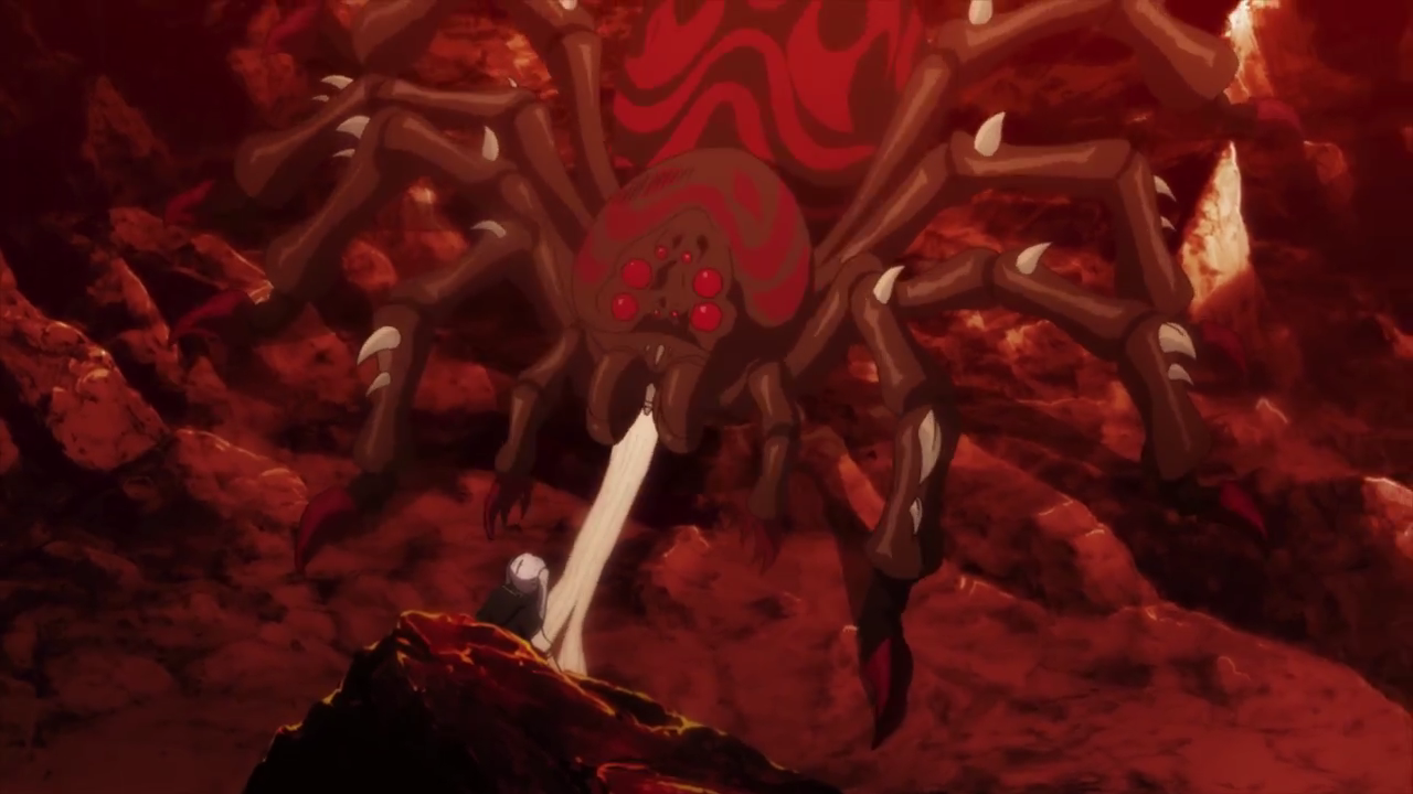 Monster spider catches Noelle.png