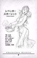 Volumen 5 - Perfil de Rebecca Scarlet