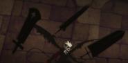 Liebe wields Anti Magic swords