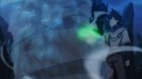 Yuno fazendo torre tornado