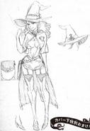 Vanessa initial concept full body