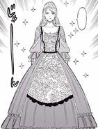 Charlotte et sa nouvelle robe