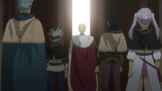 Julius taking several Knights to a ceremony.png