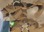 Cavaleiro de Armadura Blindada de Areia