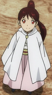 Kahono as a child
