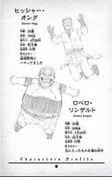 Hischer Ongg and Robero Ringert Character Profile
