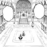 Clover throne room