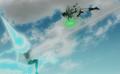 Wind trident