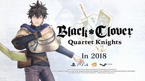 Black Clover Quartet Knights Yuno Character Trailer PS4, PC