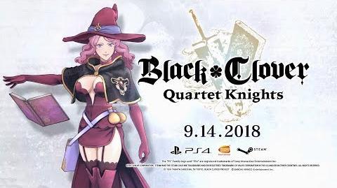 Black Clover Quartet Knights - Vanessa Character Trailer PS4, PC