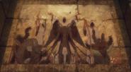 Devil-binding tableau