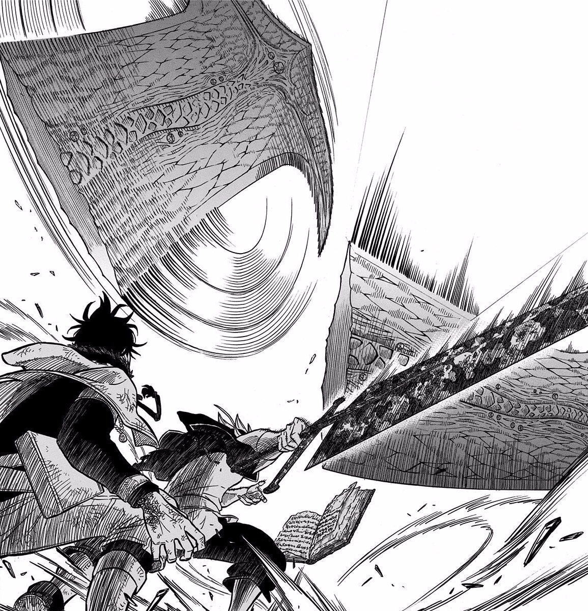 Asta protects Yuno from Mars attack.png