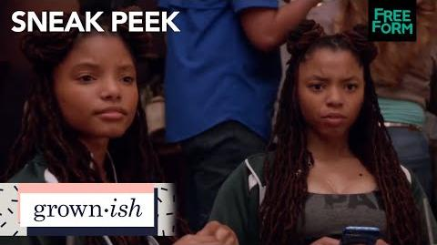 Grown-ish season 1, episode 2 sneak peek it's just adderall freeform