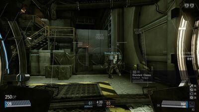 Hardsuit In-game HUD