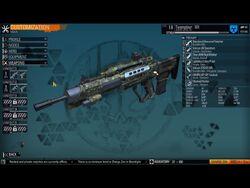 Burstfire rifle
