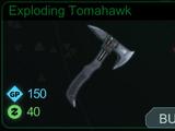 Exploding Tomahawk