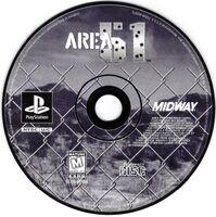 Area 51 PlayStation cd