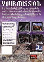 Area 51 Sega Saturn back cover