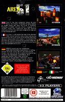 Area 51 Sega Saturn back cover1